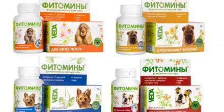 Витамины Веда для собак