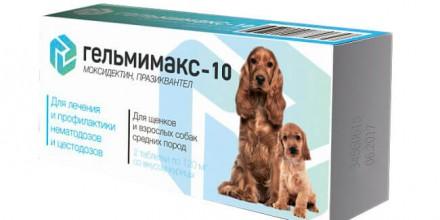 Гельмимакс для собак