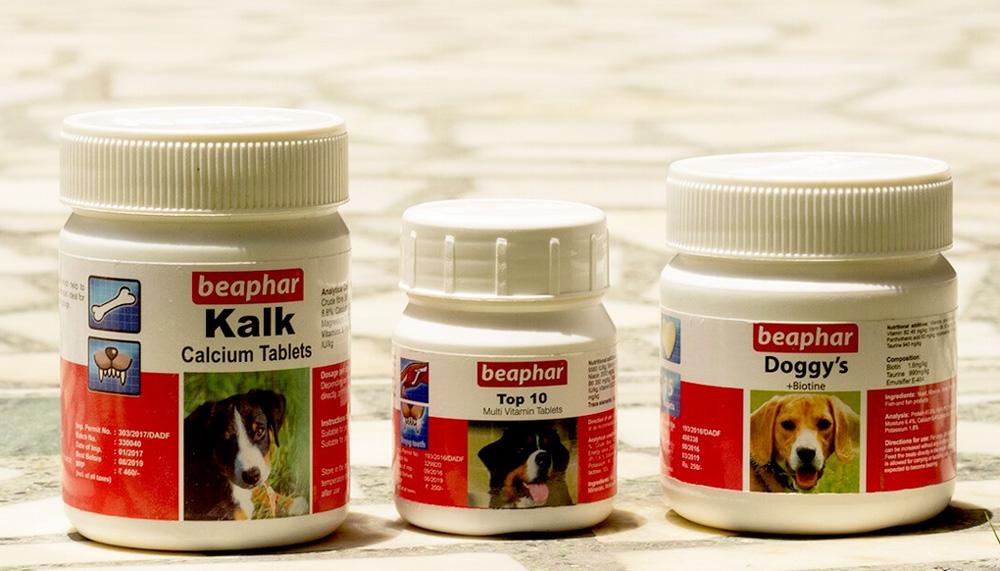 Витамины Beaphar для собак (Беафар)