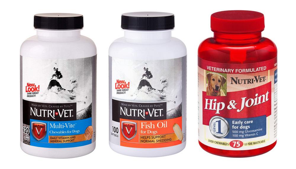 Витамины Nutri Vet для собак (Нутри Вет)