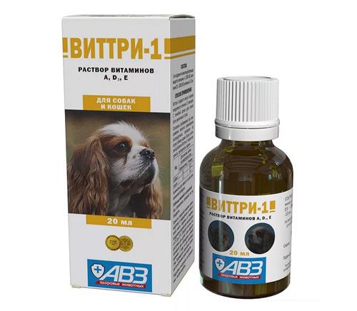 Витамины Виттри-1 для собак