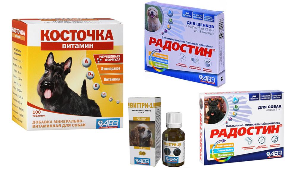 Витамины Агроветзащита для собак