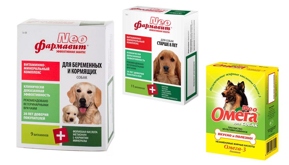 Витамины Астрафарм для собак