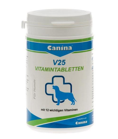 Витамины для собак Canina V25