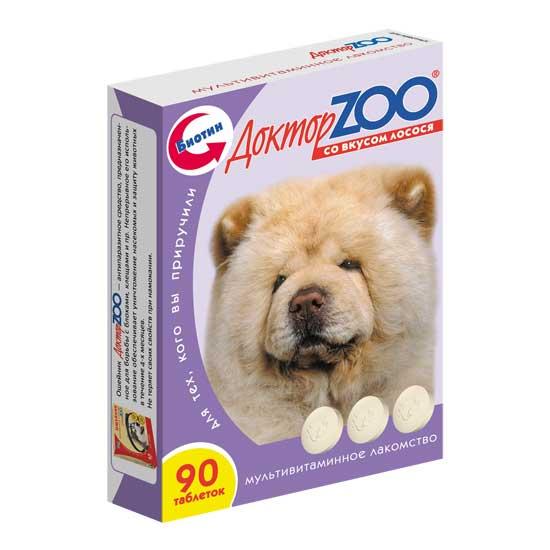 витамины для собак Доктор Зоо фото упаковки