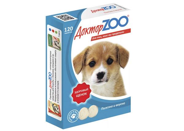 Витамины Доктор ZOO здоровый щенок