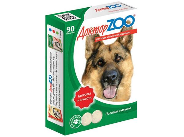 Доктор ZOO витаминные лакомства с протеином