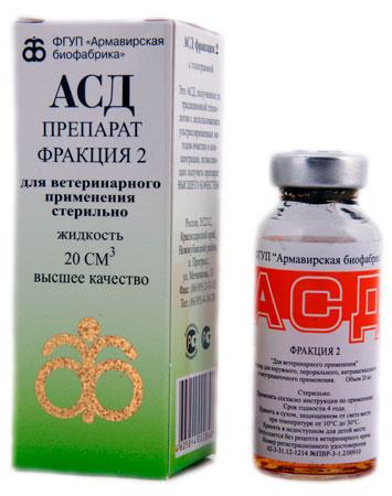 препарат асд 2 для щенков