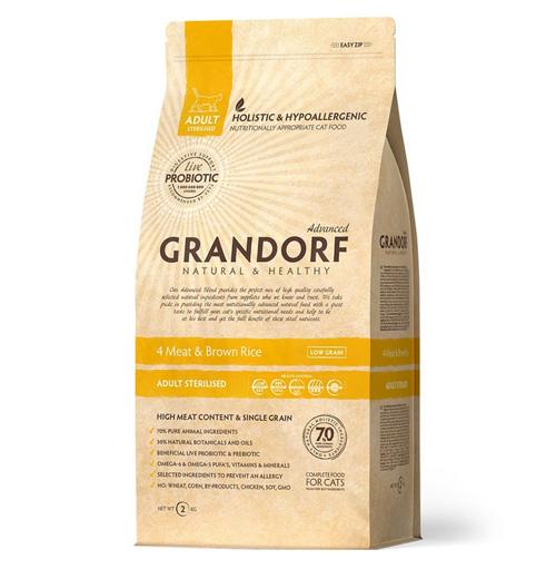 Корм для Чихуахуа Grandorf 4 Meat & Brown Rice