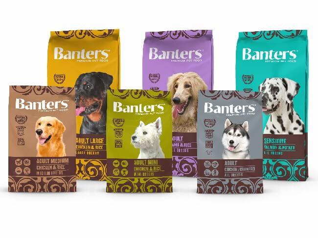 сухой корм Banters для собак