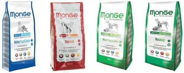 Monge (Монж) корм для собак