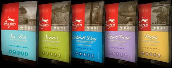 Orijen (Ориджен) корм для собак супер премиум класса