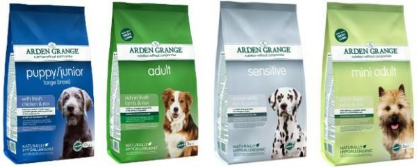 Arden Grange (Арден Гранж) корм для собак супер премиум класса