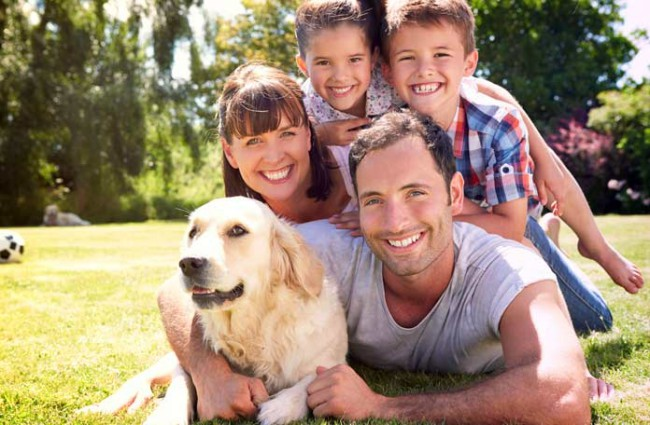 Породы собак для детей и семьи