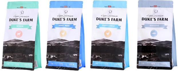 Корм для собак Дюкс Фарм (Duke's Farm) обзор состава и цен
