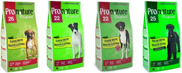 собачий корм Pronature фото упаковки