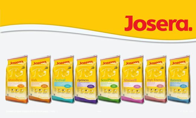 собачий корм Josera фото упаковки
