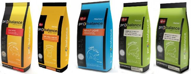 собачий корм Probalance фото упаковки